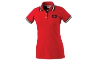 LADIES RED POLO SHIRT